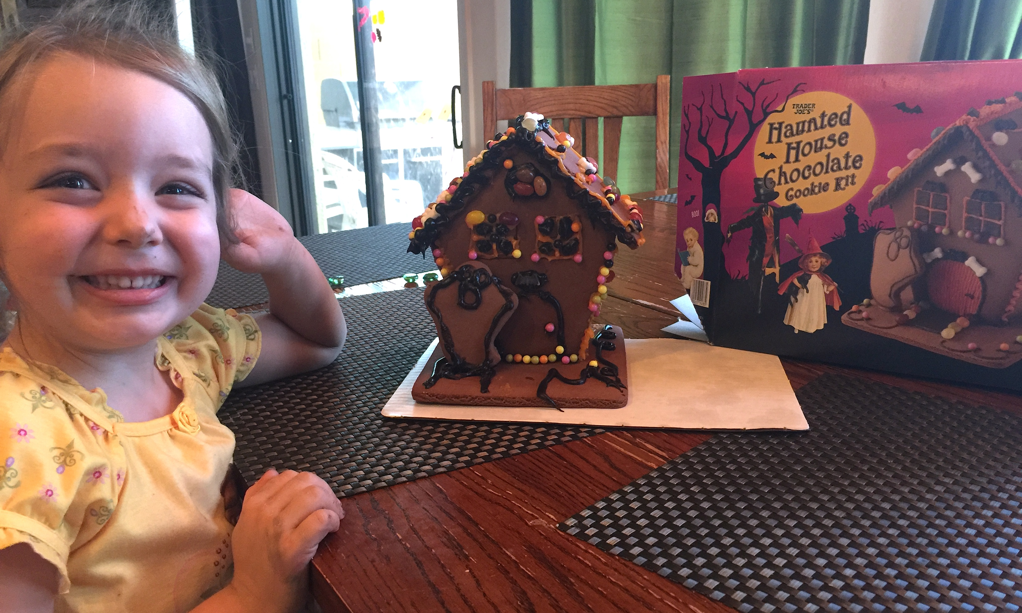 "On Haunted Chocolate Cookie Houses and Saying ""Yes"""