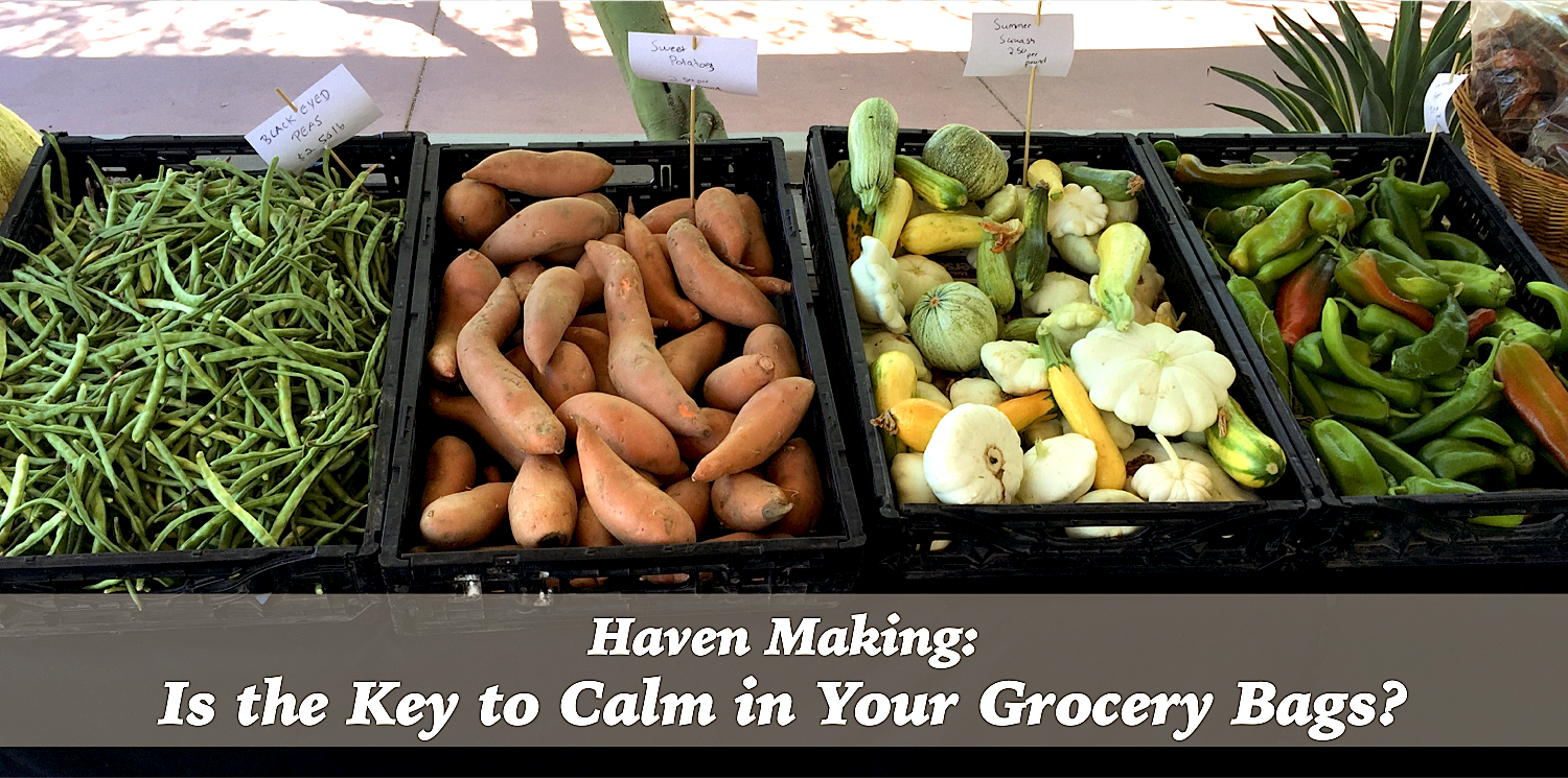 Is the Key to Calm in Your Grocery Bags?